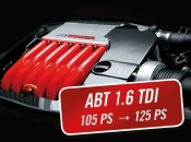 ABT Power 1.6 TDI 105 PK, 250 Nm naar 125 HP, 285 Nm MKB: CLHA
