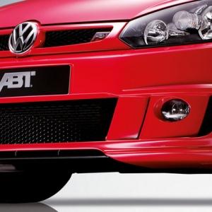 ABT onderlip voorbumper voor de VW Golf 6