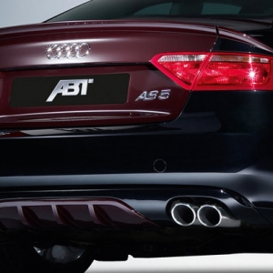 ABT kofferspoiler voor de Audi A5 coupe bj. 2011