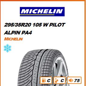 MICHELIN 295/35R20 105 W