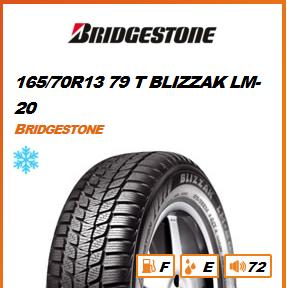 BRIDGESTONE 165/70R13 79 T