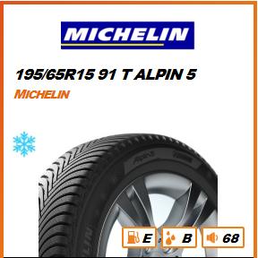 MICHELIN 195/65R15 91 T